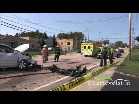 Accident à Clermont