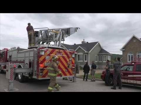 Intervention rapide des pompiers