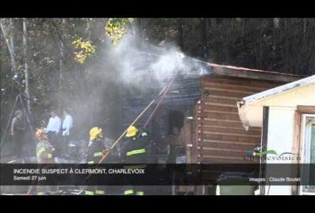 Incendie suspect à Clermont