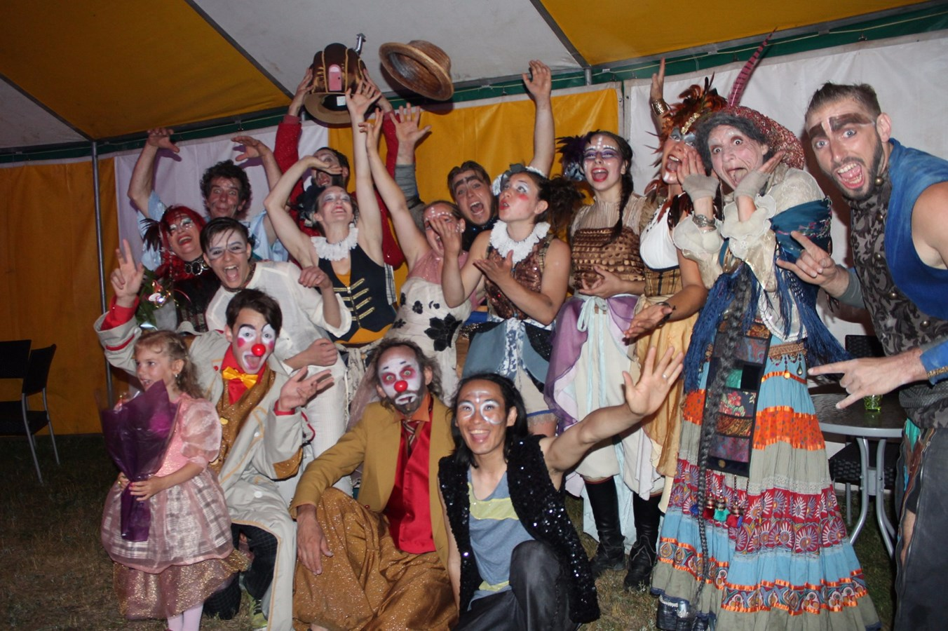 La bonne aventure du Cirque Ekasringa: «La vie, c'est merveilleux! »