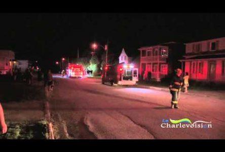 Incendie à Clermont