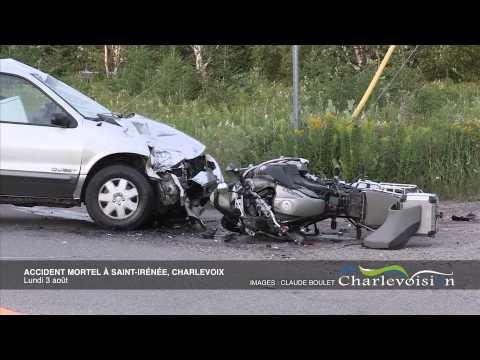 Un accident fait une victime