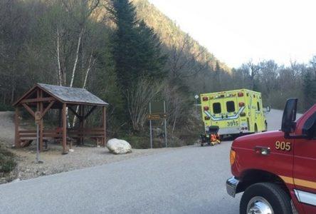 Déjà trois évacuations aux Hautes-Gorges