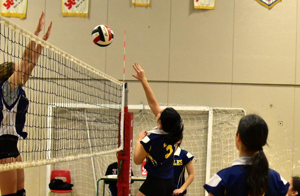 Volleyball:une journée parfaite pour les Rafales-bleu