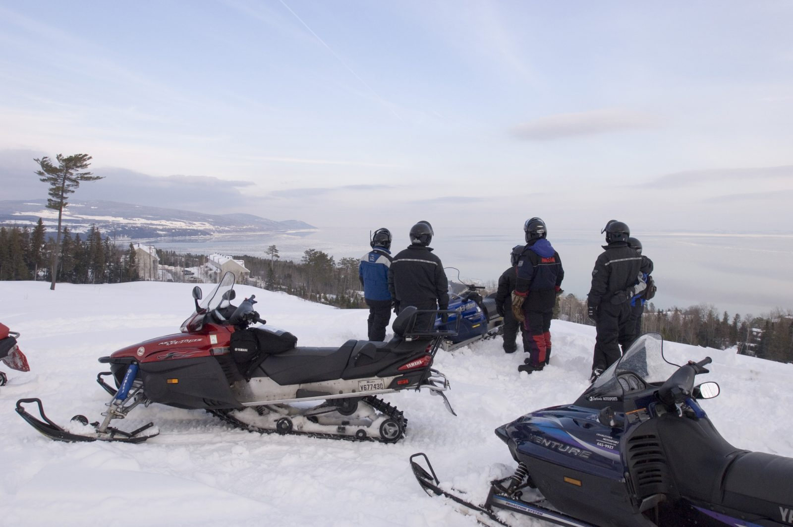 Le village de Saint-Siméonencore «isolé» de l'industrie de la motoneige pour 2019