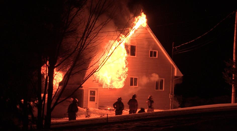 Incendie à La Malbaie