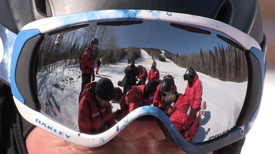 Exercice de sauvetage au Mont Grand-Fonds : une simulation de la réalité