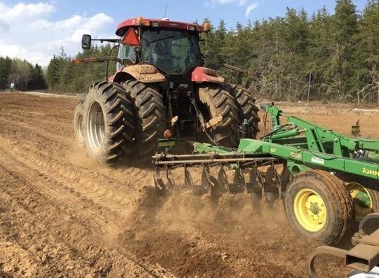 Programme de soutien pour le drainage et le chaulage des terres