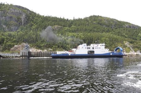 Exercice d'urgence à la Traverse Baie-Sainte-Catherine