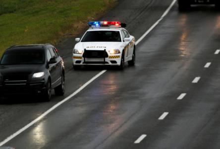 Sécurité routière: hausse des infractions pour l'Action de grâce 2019