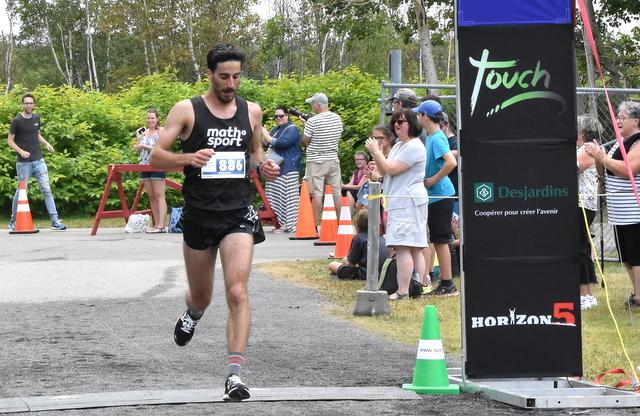 Demi-marathon de l'Isle : Benjamin Raymond premier, David Savard-Gagnon deuxième