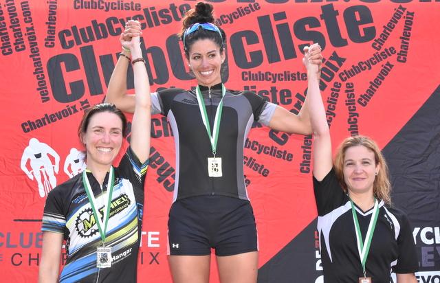 Coupe Charlevoix : trois podiums pour le club régional