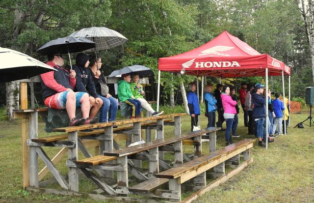 Drag VTT : la pluie fait fuir les spectateurs