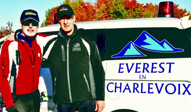 Défi L'Everest en Charlevoix : Ascension complétée