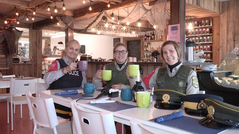 G7 : un premier Café-rencontre avec le groupe intégré de la sécurité (vidéo)