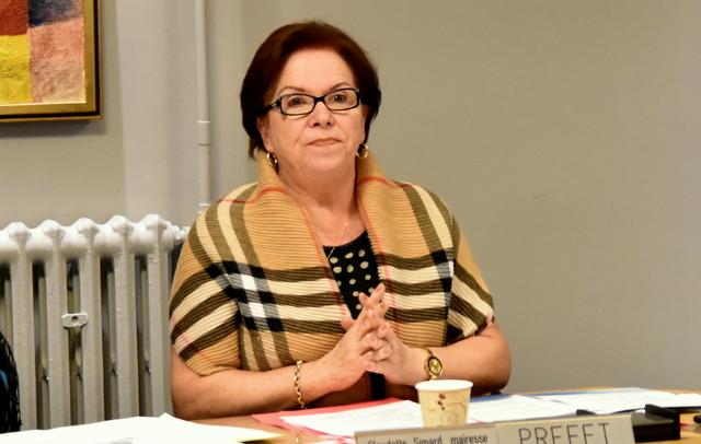 Claudette Simard élue préfet