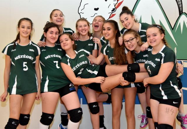 Volleyball : le Météore commence l'année du bon pied