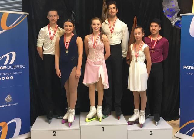 Une première place pour Olivia Tremblay en patinage artistique