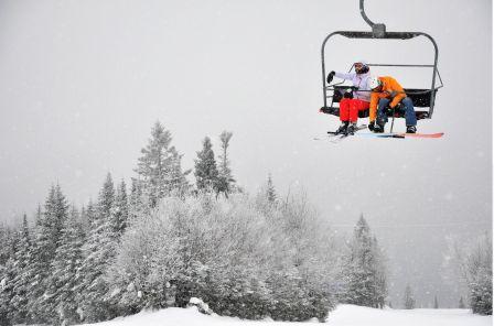 Ski dans la région : le froid diminue les ardeurs