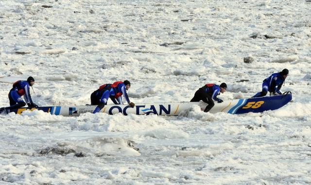 La Grande Traversée : 13 887 $ pour le musée du canot à glace