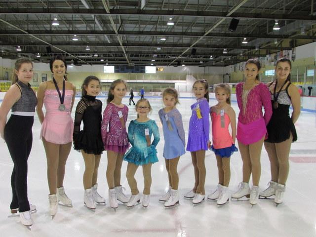 Nos patineuses performent à Saint-Marc-des-Carrières