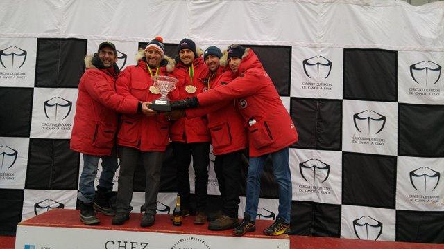 L'équipe GFFM Leclerc remporte la Coupe des Glaces