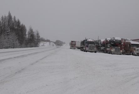 Route 138 rouverte aux véhicules lourds