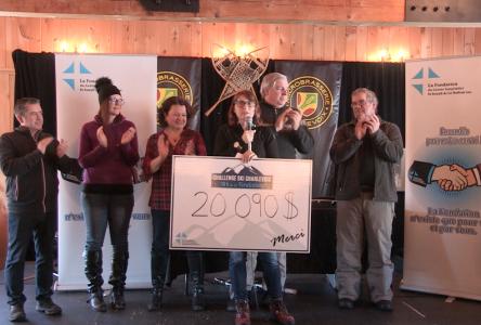 Plus de 20 000$ pour la Fondation du Centre hospitalier St-Joseph de La Malbaie