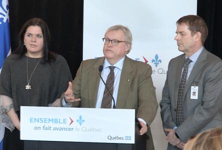 Inauguration de l'unité d'hémodialyse du nouvel hôpital de Baie-Saint-Paul (2 vidéos)