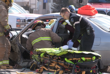 Trois véhicules impliqués dans un accident de la route