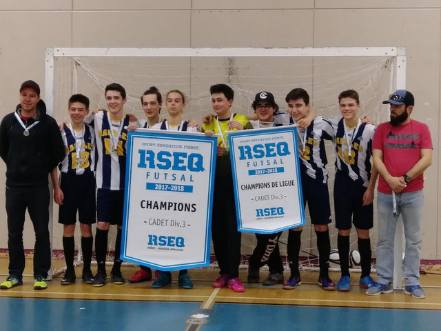 Soccer interscolaire: les Rafales champions