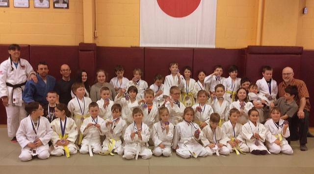Une trentaine de médailles pour Charlevoix en judo