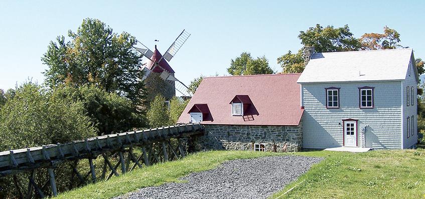 Des visites nocturnes aux Moulins de L'Isle-aux-Coudres