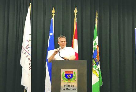 """""""Charlevoix pourrait devenir une référence pour les prochains G7"""" – Michel Couturier"""