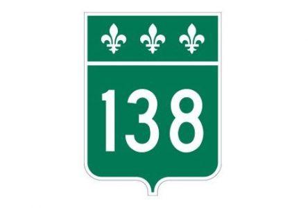 La route 138 fermée entre Saint-Siméon et Baie-Sainte-Catherine