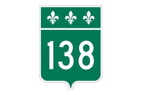 La route 138 rouverte