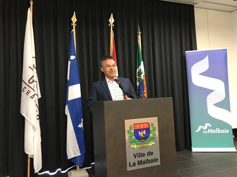 Le maire Couturier confiant pour la deuxième journée du G7