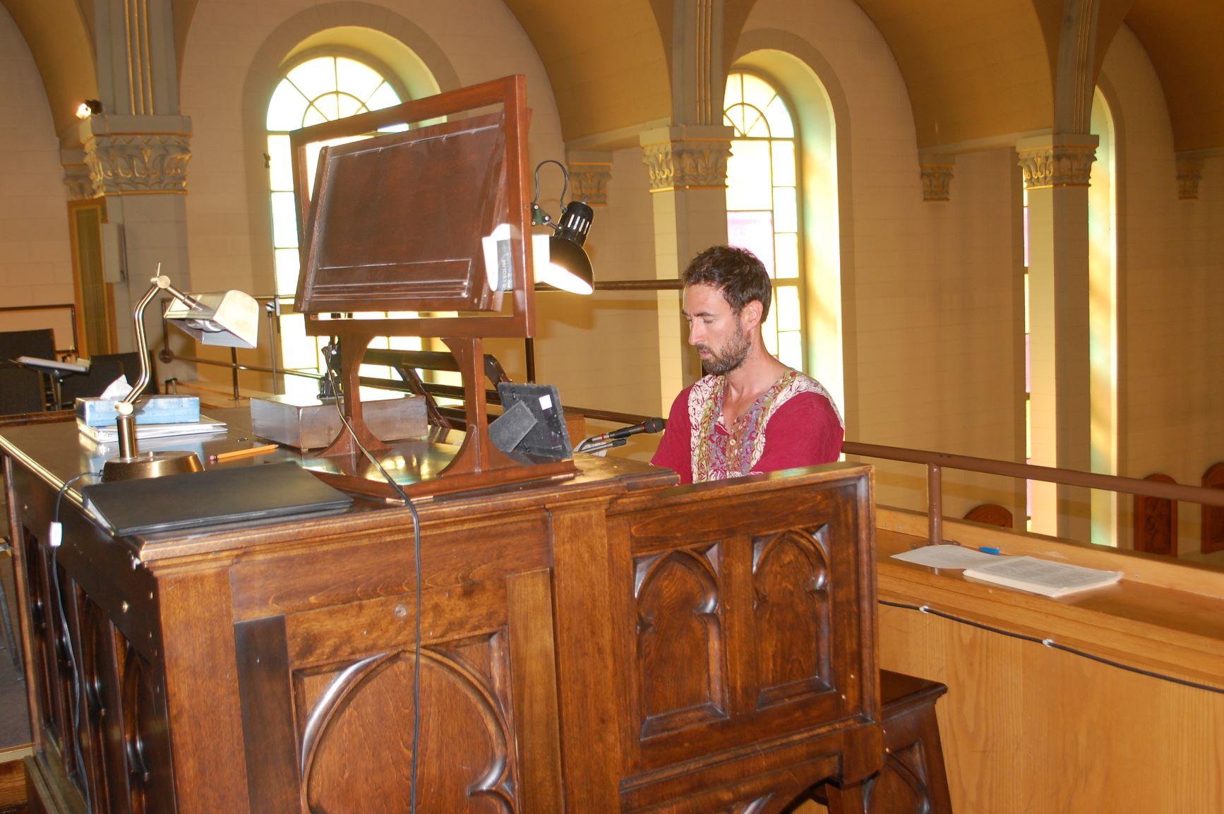 Sébastien Dubois propose un concert d'orgue à Baie-Saint-Paul