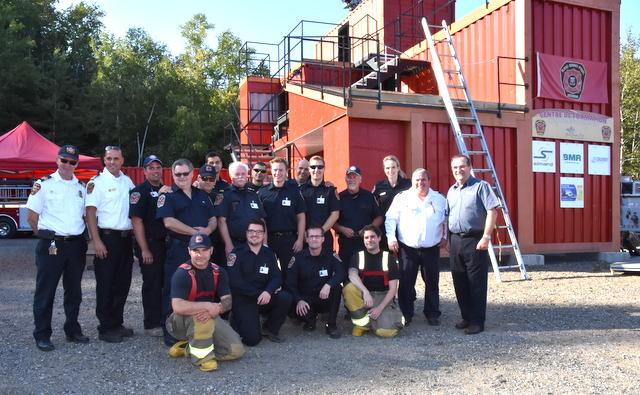 Le centre de formation des pompiers de Baie-Saint-Paul est inauguré (Vidéos)