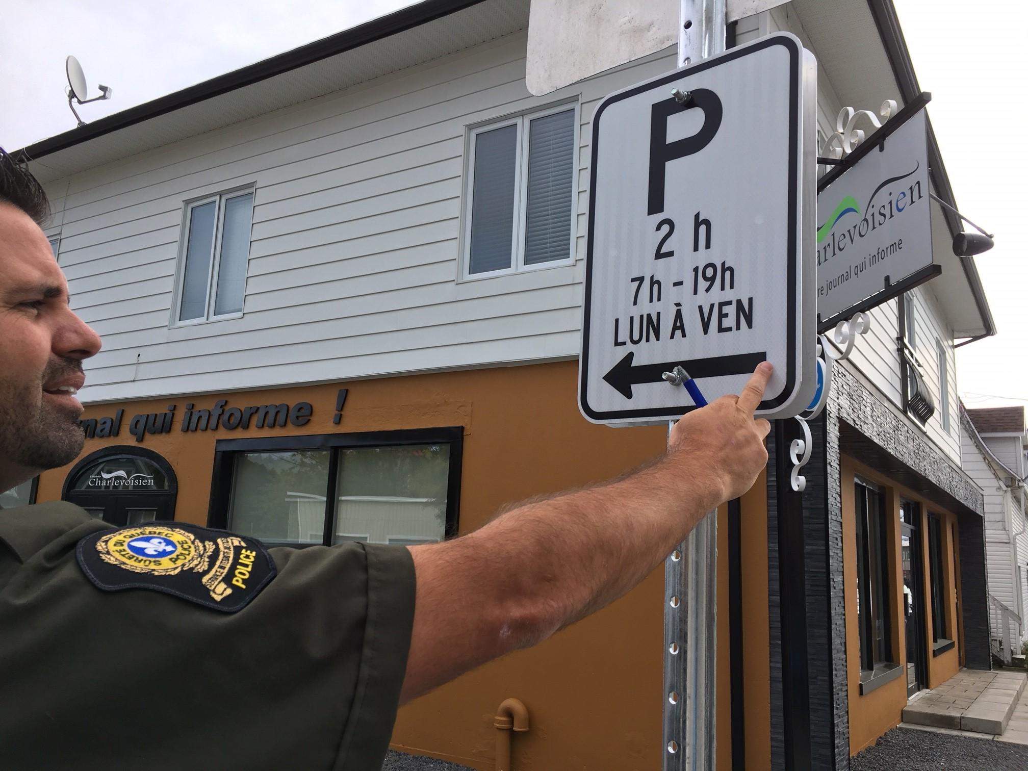 La réglementation sur les stationnements enfin appliquée à La Malbaie