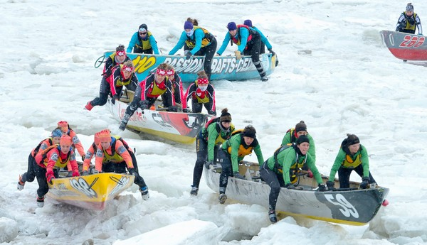 Caroline Simard veut que L'Isle-aux-Coudres ait son économusée du canot à glace