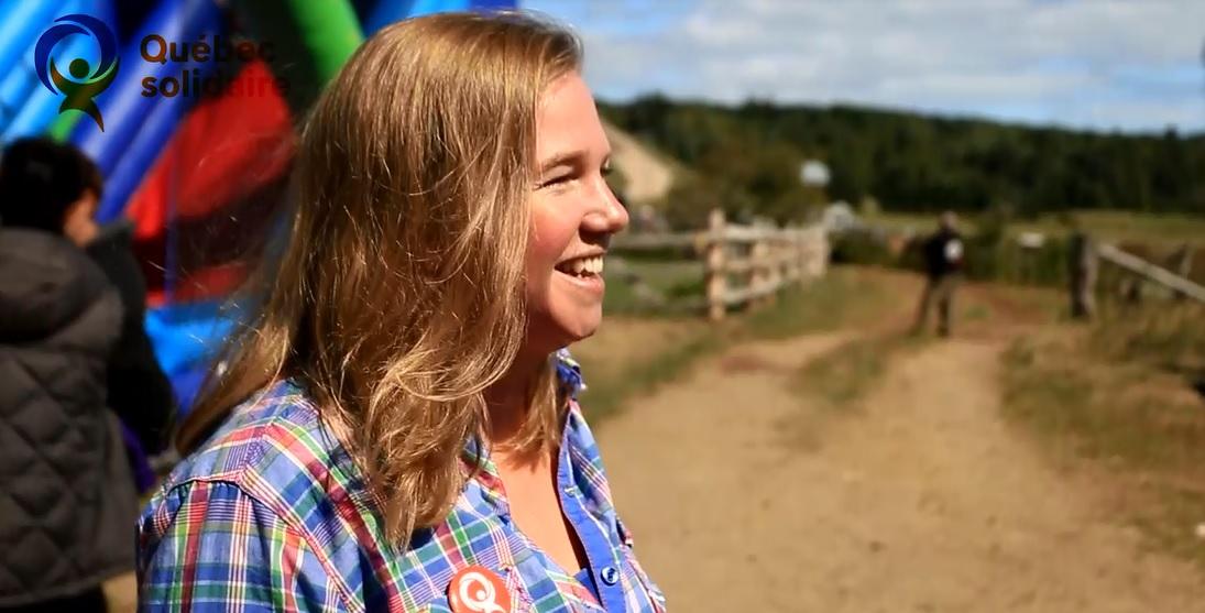 Jessica Crossan lance une vidéo pour inspirer les électeurs