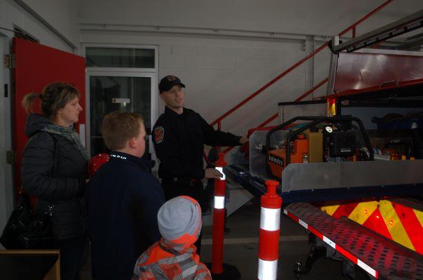 Les pompiers de Baie-Saint-Paul ont fait visité leurs installations