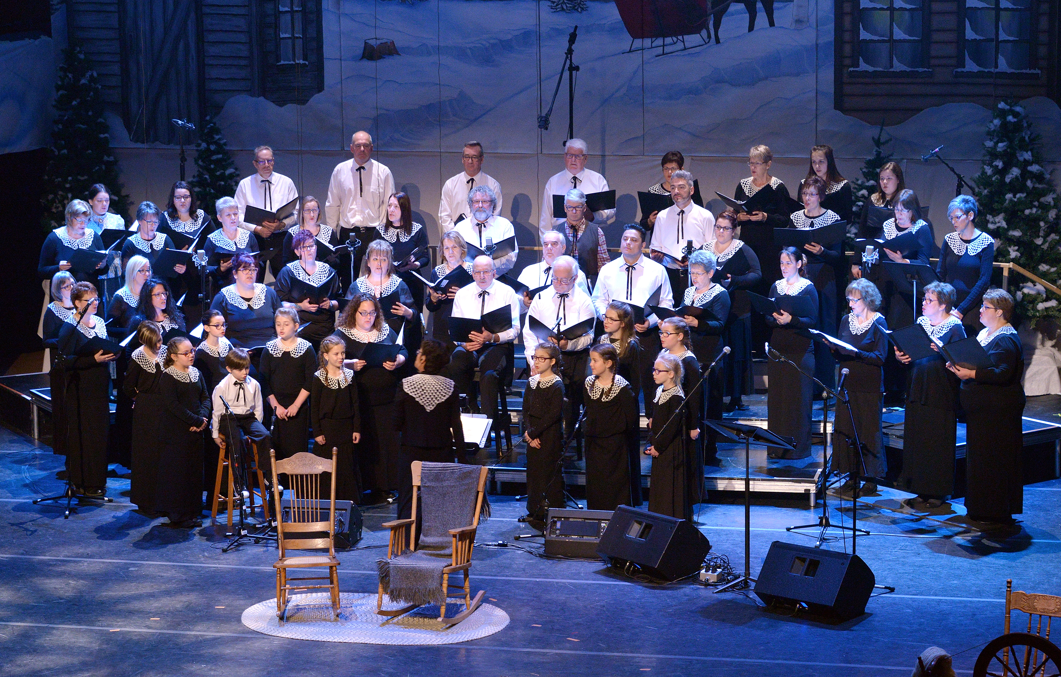 Concert de la Chorale de Sainte-Agnès: Vive Noël au théâtre!