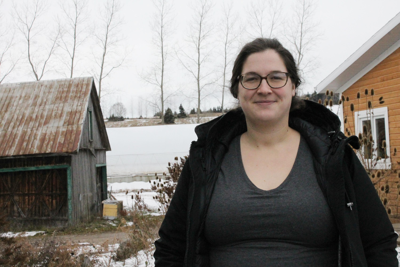 Gabrielle Cadieux-Gagnon rachète la ferme familiale