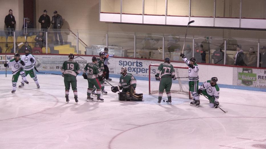 Hockey senior : Charlevoix s'incline 4-1 face à Jonquière