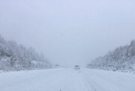 Dernière heure: la route 138 est fermée aux véhicules lourds