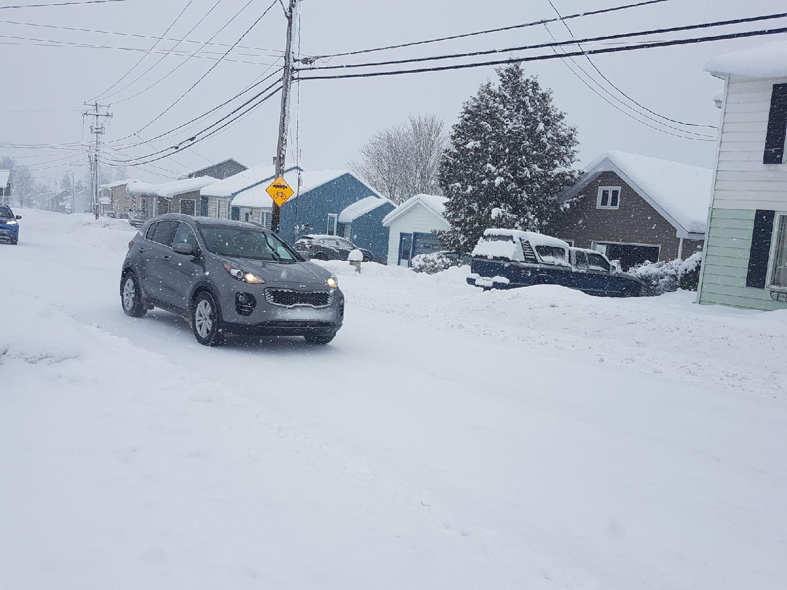 (Mise à jour 11h45) Alerte météo: une accumulation de 50 à 70 cm de neige est attendue