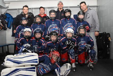 Une belle fin de semaine pour le hockey mineur dans Charlevoix