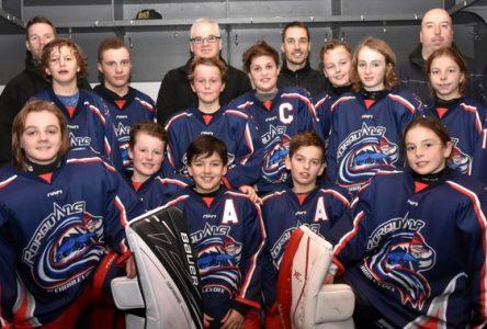 Hockey mineur : les Rorquals démontrent du cœur et du caractère